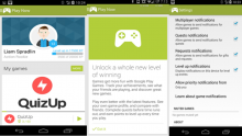 google, play games, new version, android