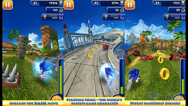 Gambar Kartun Sonic Knuckles: 8 Game Endless Runner Paling Seru