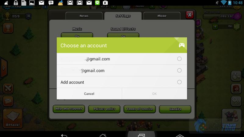 Cara Memindahkan Akun Clash Of Clans Di Gadget Android