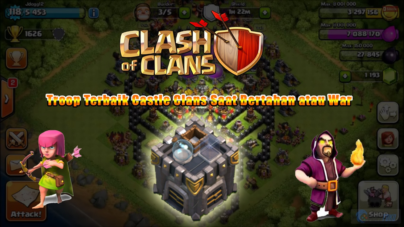 Trik Clash Of Clans Terlengkap 2015