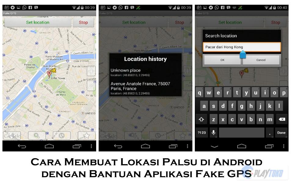 Cara Membuat Lokasi Palsu Di Android Dengan Bantuan Aplikasi Fake