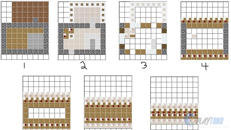 Tips Dan Trik Minecraft Pocket Edition Tips Membangun Rumah Idaman