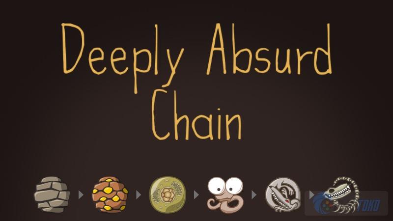 Deeply Absurd Chain - Xếp hình tiến hóa gây nghiện - iOS/Android