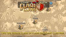 clash of clans, tipe-tipe pemain, pemain, pemain clash of clans, clan war, war