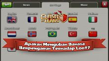 clash of clans, bahasa, lokasi, coc, tips clash of clans, rumor clash of clans, android, ios, strategi, game mobile, game gratis, tips main game