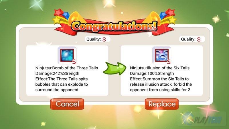 Tips dan Trik Ninja Heroes: Trik Mendapatkan Skill Tailed Beast Grade S - SS