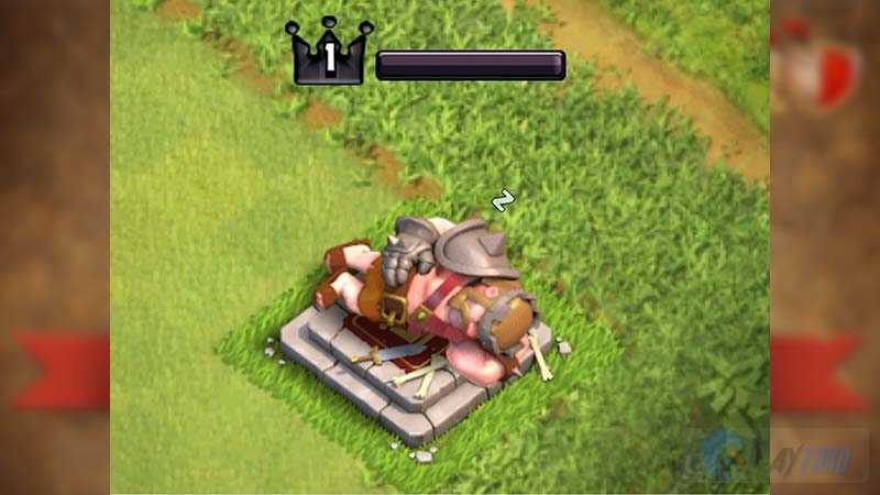 barbar king clash of clans
