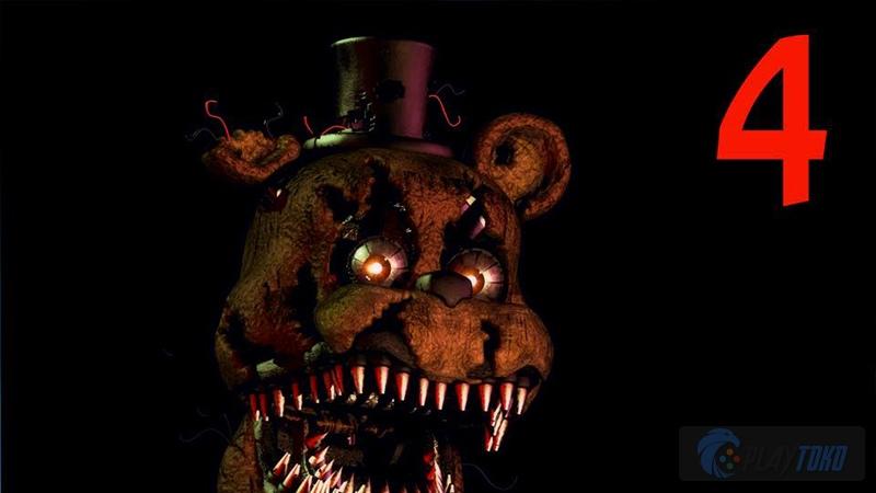 Review Game PC Five Nights At Freddy 4, Game Boneka Sereeeemmm.