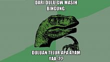 ayam, telur, meme, question and answer, sharing