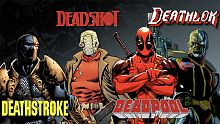 marvel, dc, dc comics, deadshot, deadpool, deathstroke, deathlok, superhero, supervilain, antihero, arrow, agents of s.h.i.e.l.d