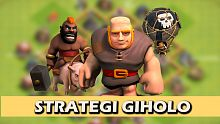 android, ios, tips dan trik clash of clans, coc, giholo, strategi menyerang, giant, hog, balloon, th, th 5-6, tonwhall 5, townhall 6
