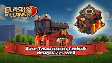 clash of clans, coc, tips clash of clans, trik clash of clans, tips coc, trik coc, town hall 10, th 10, trophy base, war base, 275 wall, farming base, clan war, heart of champion, base town hall 10, base th 10