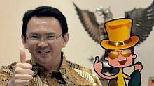 Perjuangan Ahok Menuju Pilkada Jakarta Menjadi Bagian Mini Game CumaCeban